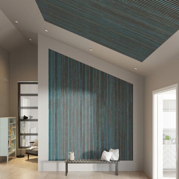 vegg-tak-eller-begge-steder-gi-rommet-et-loft-med-vare-nye-rustikke-spilepaneler-i-oxidert-bla-panelene-hjelper-pa-akustikken-i-rommet